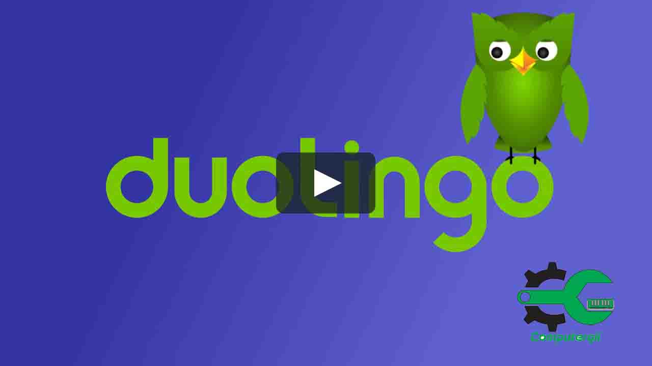شرح برنامج Duolingo- كمبيوترجي
