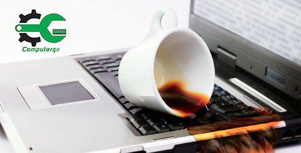 حلول مبتكرة إذا سقط ماء أو سائل على اللابتوب-كمبيترجي