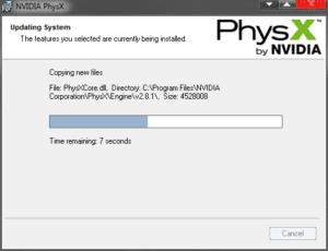 تحميل برنامج Nvidia Physics