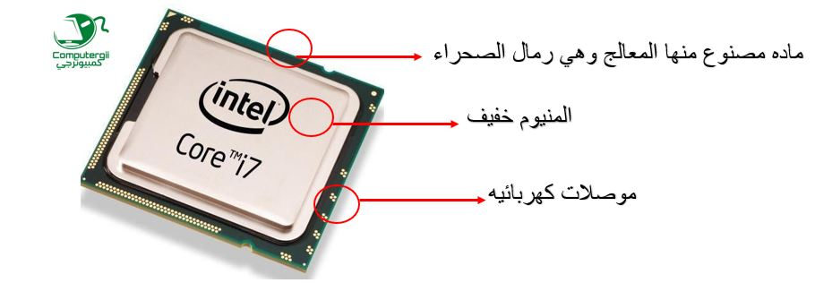 شكل المعالج الخارجي - كمبيوترجي