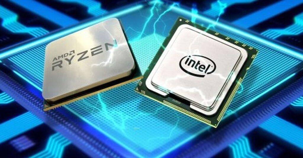 معالج AMD ومعالج إنتل Intel