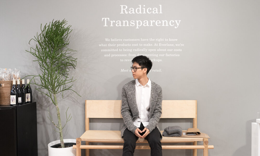Is Everlane's Radical Transparency A Greenwashing Campaign?