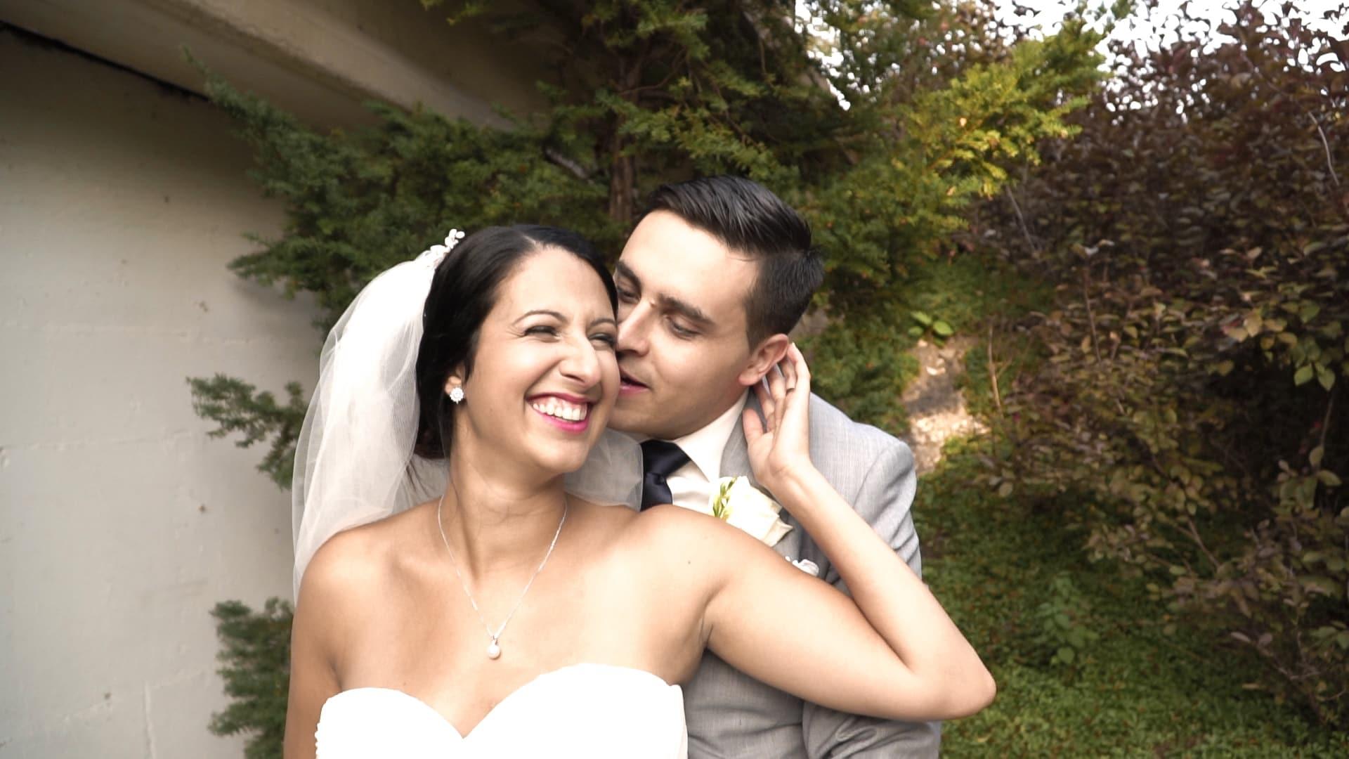 Couple de mariés, vidéo de mariage, film de mariage, Pavillon de la Jamaïque, Parc Jean-Drapeau