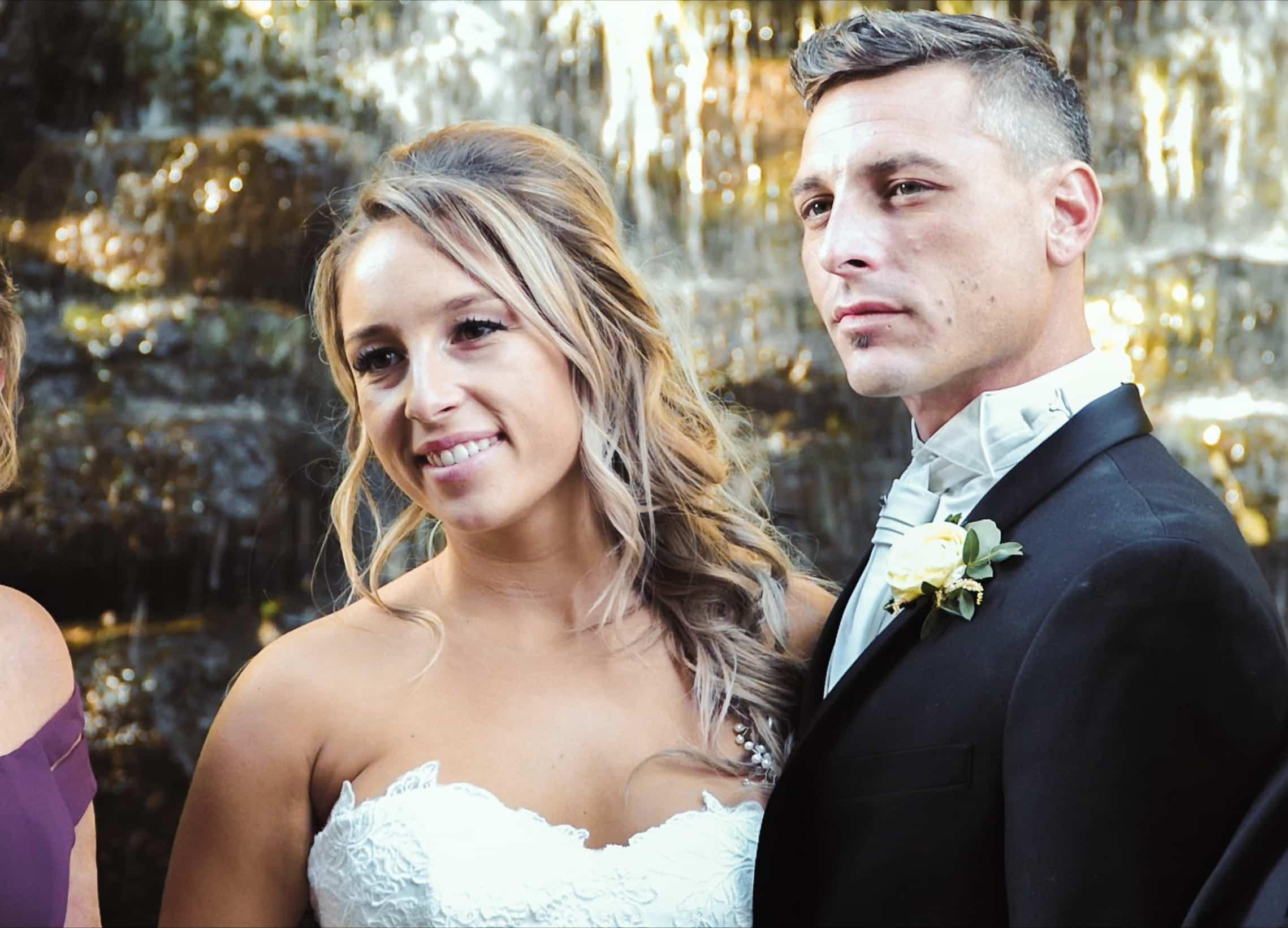 Mariage, Couple de mariés, vidéo de mariage, film de mariage
