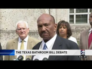 CAAP Holds Press Conference in Houston on Texas Bathroom Bill