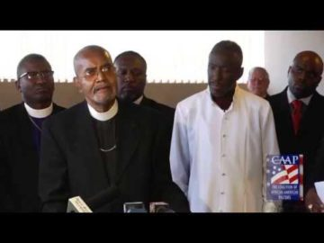 Black Church and Civil Rights Leaders Convene Press Conference Opposing President on Marriage