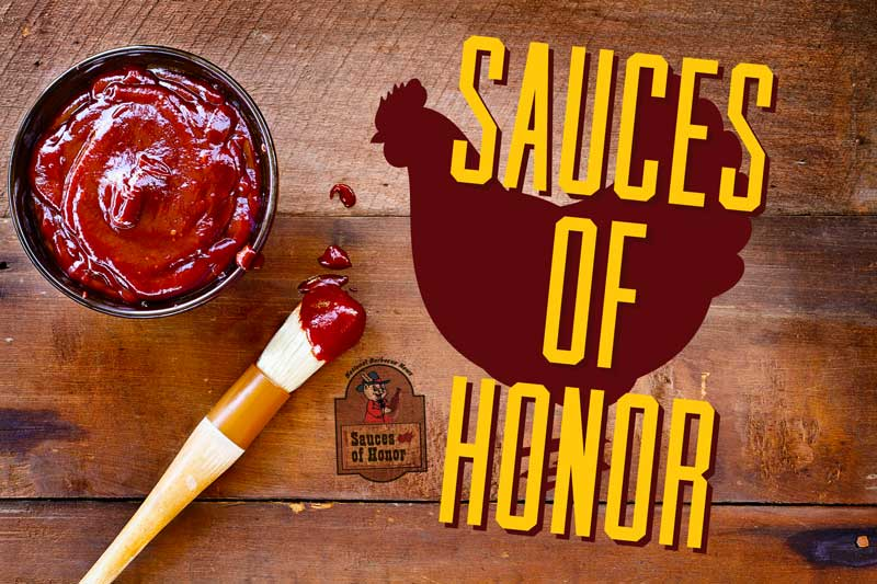 Sauces of Honor: Chicken