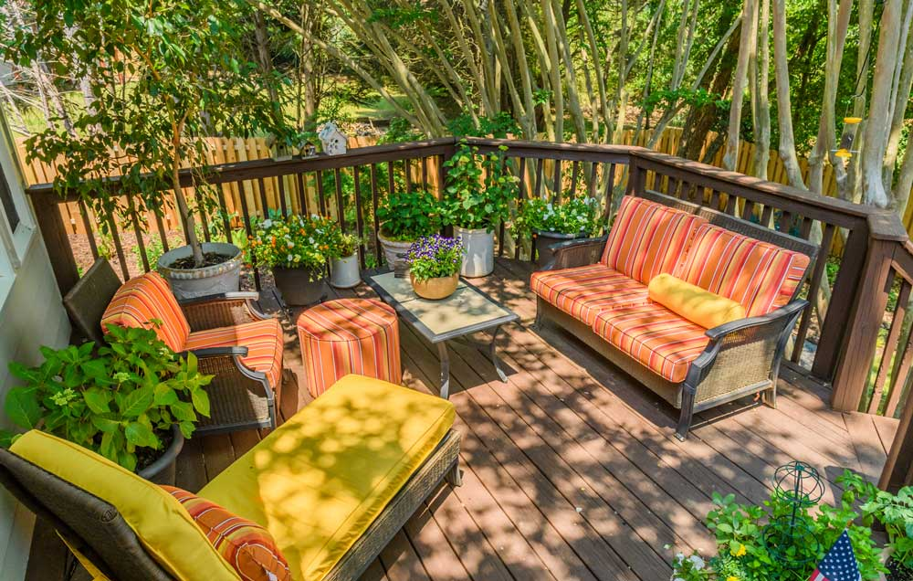 Ideas for your outdoor dining room Part I: seating and furnishing