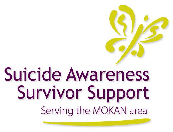 Suicide Awareness Survivor Support logo and link to agency website