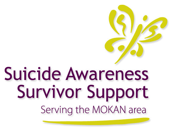 Suicide Awareness Survivor Support logo and link to agency website