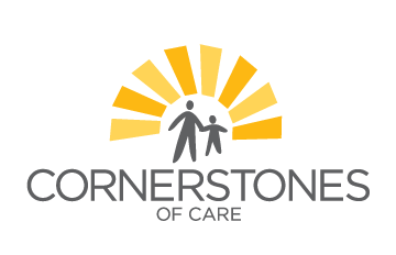 Cornerstones of Care Logo and link to agency website