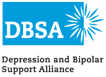 Depression and Bipolar Support Alliance (DBSA) Overland Park logo and link to agency website