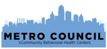 Metro Council of Community Behavioral Health Centers logo and link to agency website
