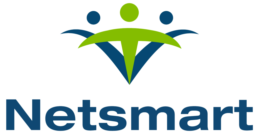 Netsmart logo and link to company website