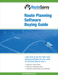 Route planning software buyers guide