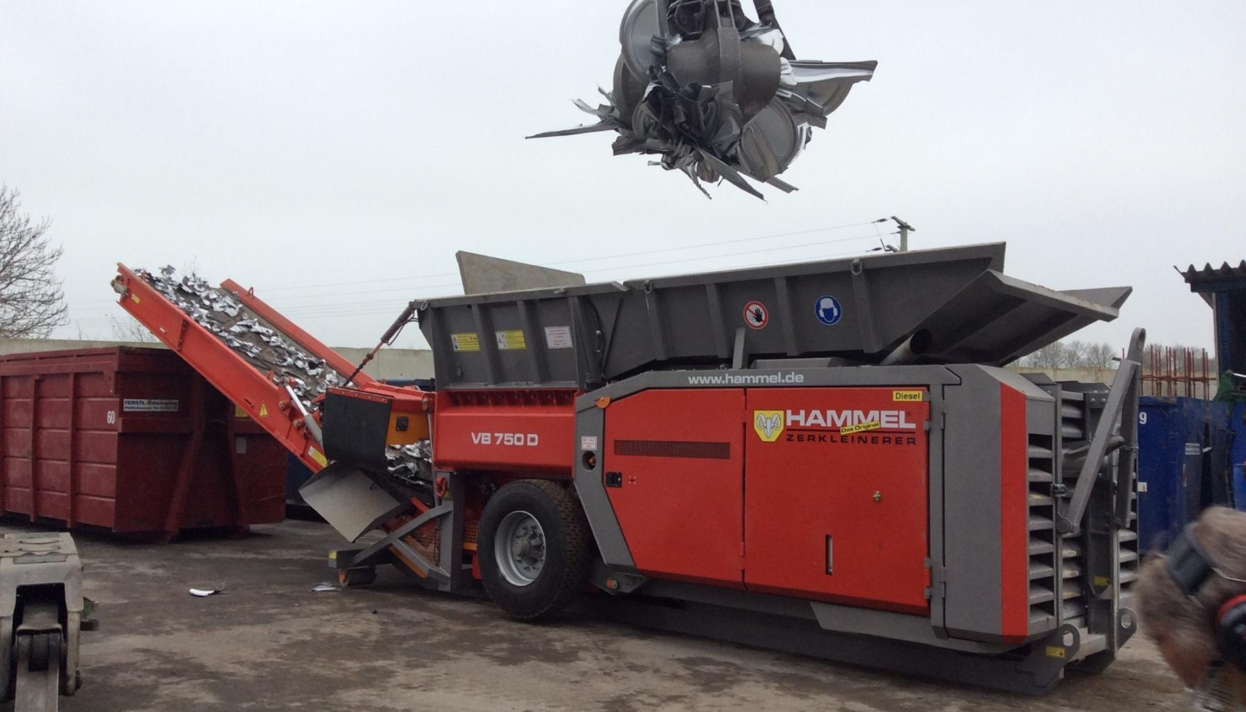 Hammel VB 750 D Shredder Image