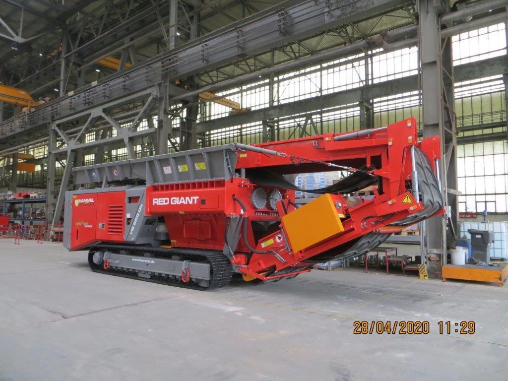 Hammel VB 950 DK Shredder SN 079 Image