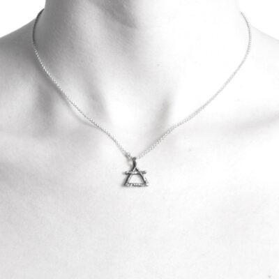 Ether11 Alchemy Symbol Air Pendant