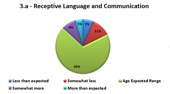 Aggregate Child Assessment Report - Pie Chart