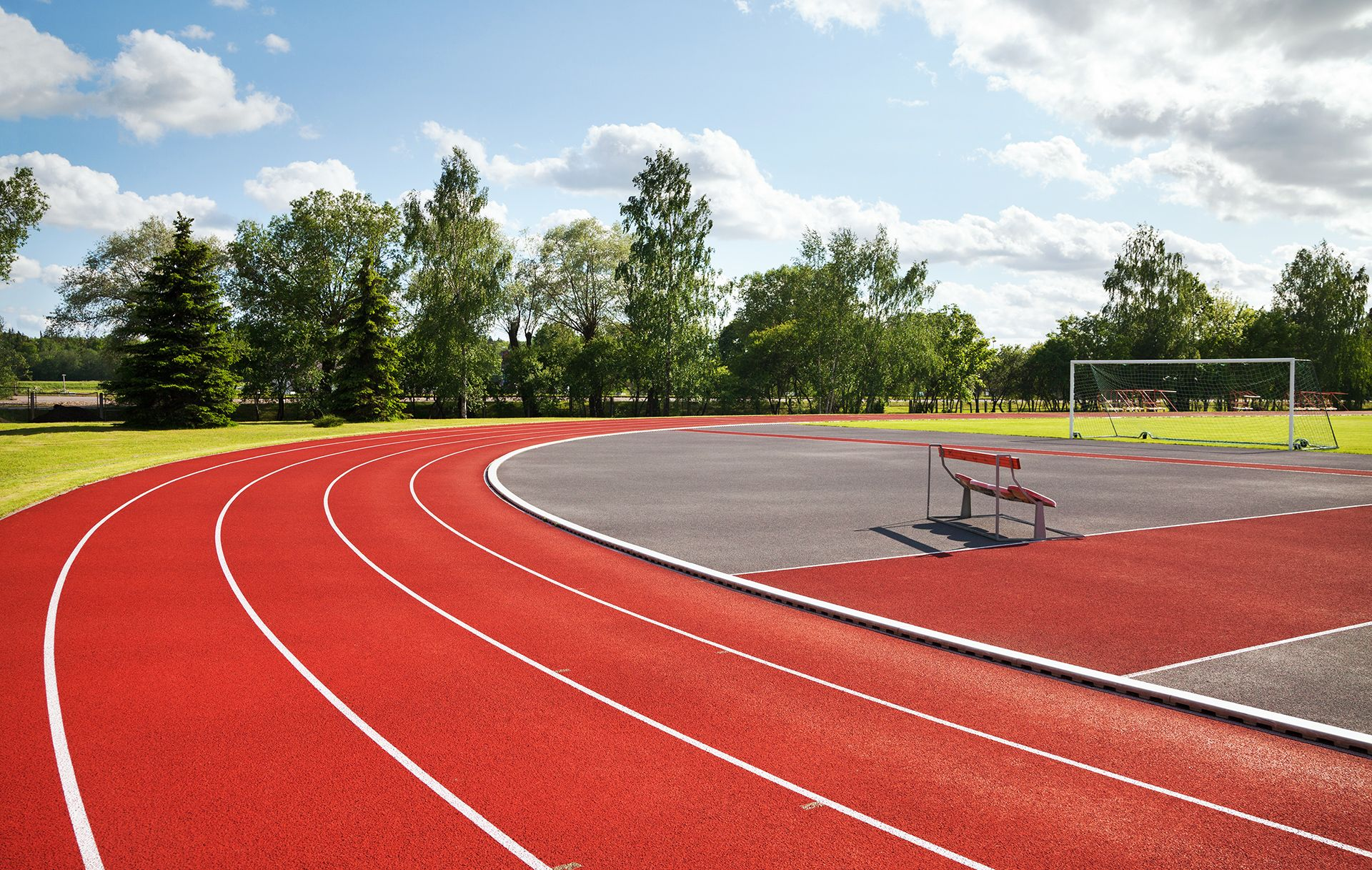 Commercial Paving Projects - School Running Tracks