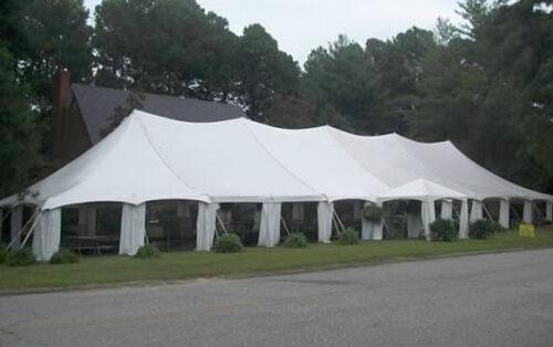 Classic Rentals - 40x120 Pole Tent