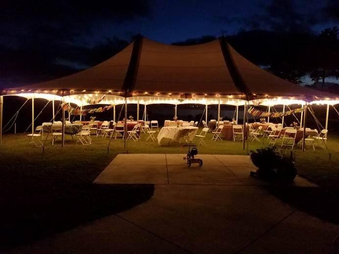 Classic Rentals - 30x45 Pole Tent