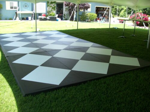 Classic Rentals - Black and White Dance Floor