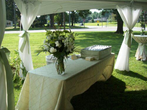 Classic Rentals - Linen for Banquet Table
