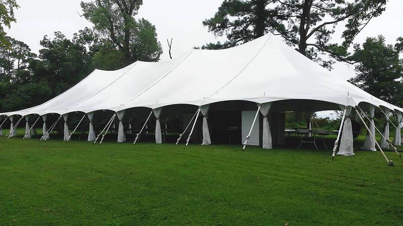 Classic Rentals - Tent Leg Drapes