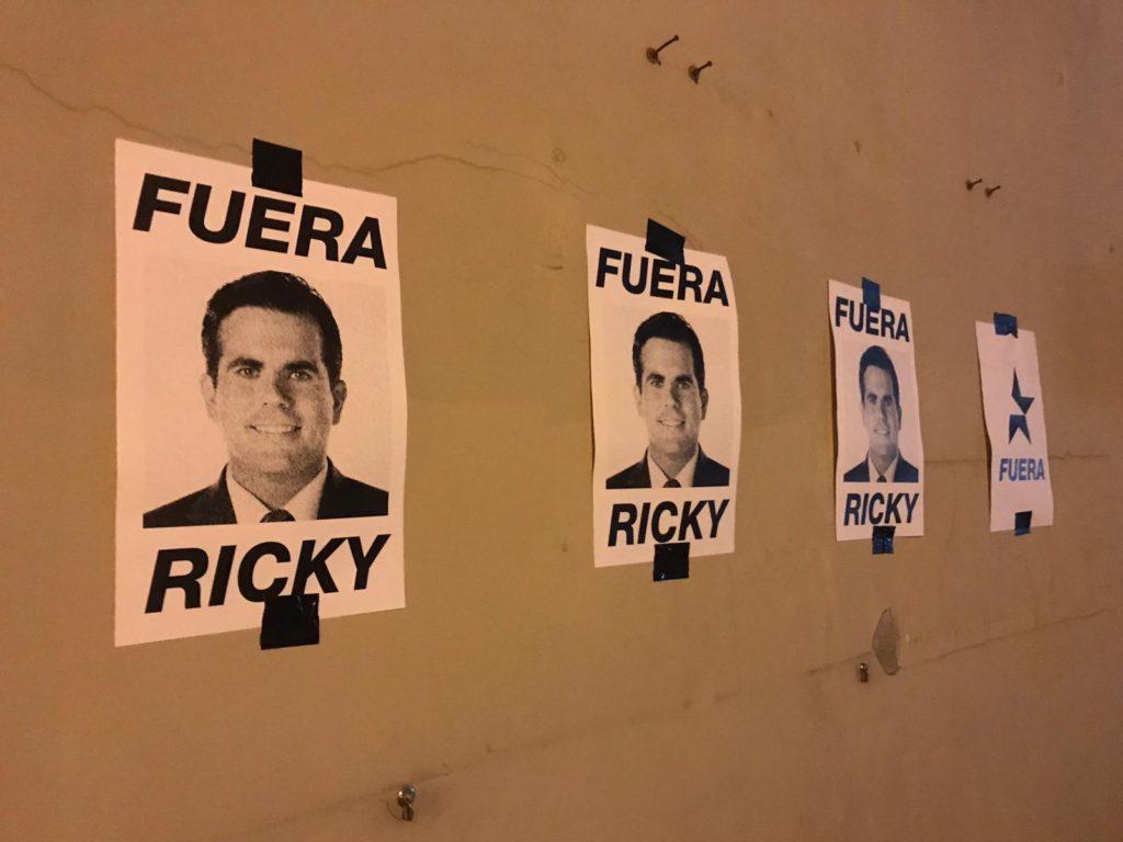 Ricky Rossello Fuera