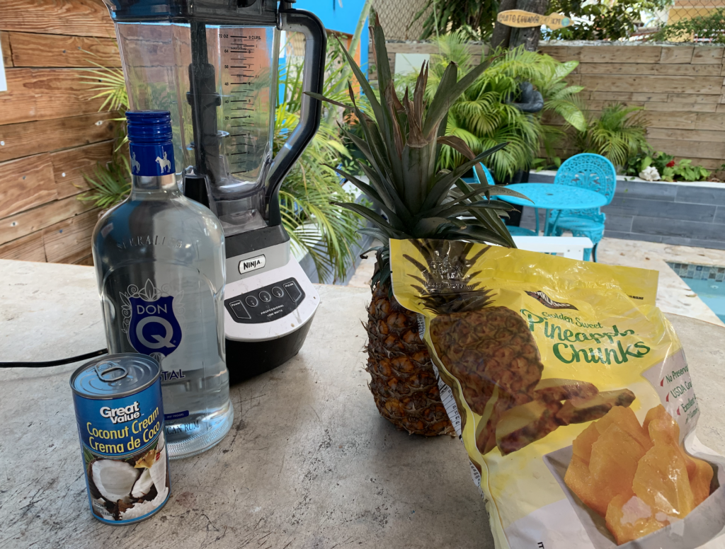 How to Make the best Piña Colada in  5 Minutes Flat