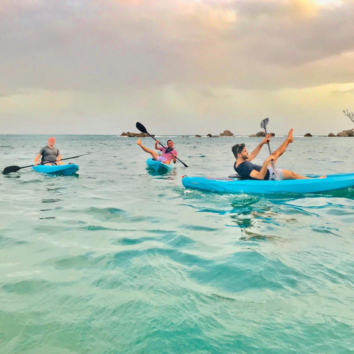 Kayaks in San Juan Puerto Rico