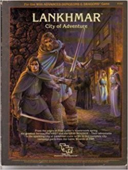 Advanced Dungeons and Dragons - Lankhmar