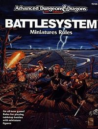 Advanced Dungeons and Dragons – Battlesystem