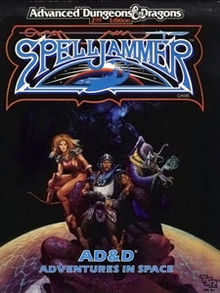Advanced Dungeons and Dragons - Spelljammer