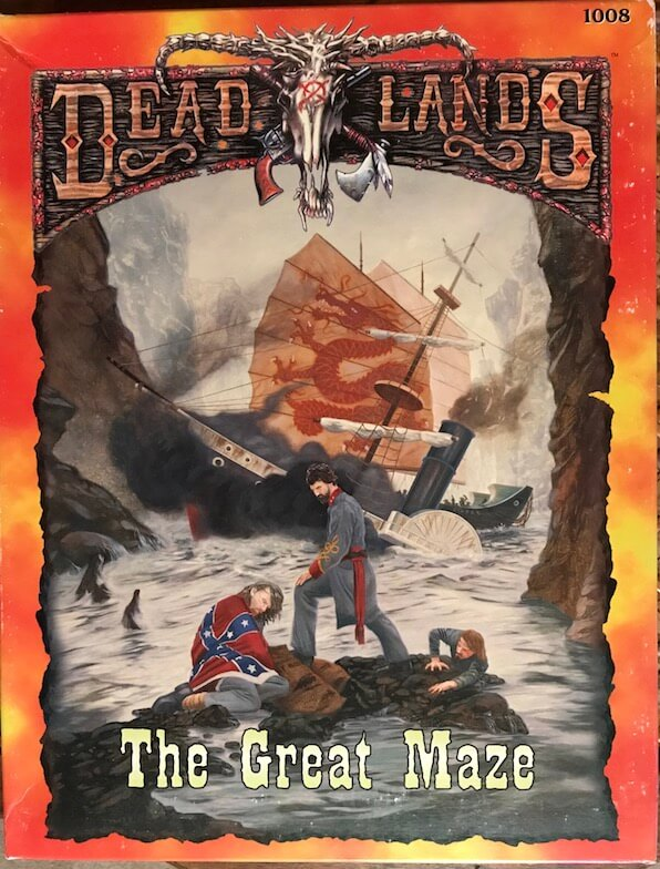 deadlands rpg great maze