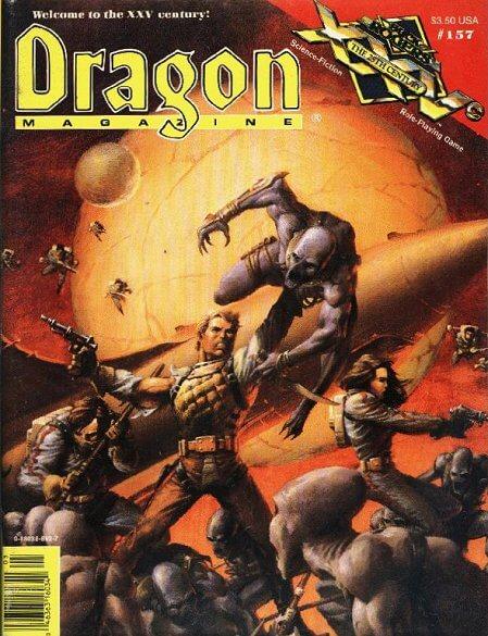 Dragon magazine #157