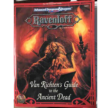 van richtens ancient dead ravenloft