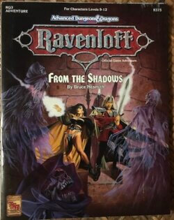 ravenloft from the shadows
