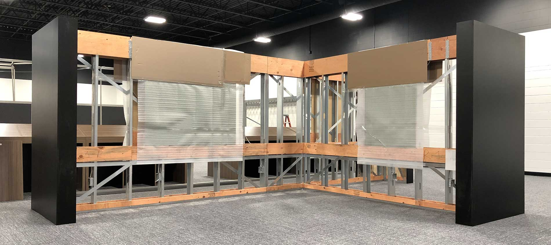 pre-fabricated wall systems revolv+