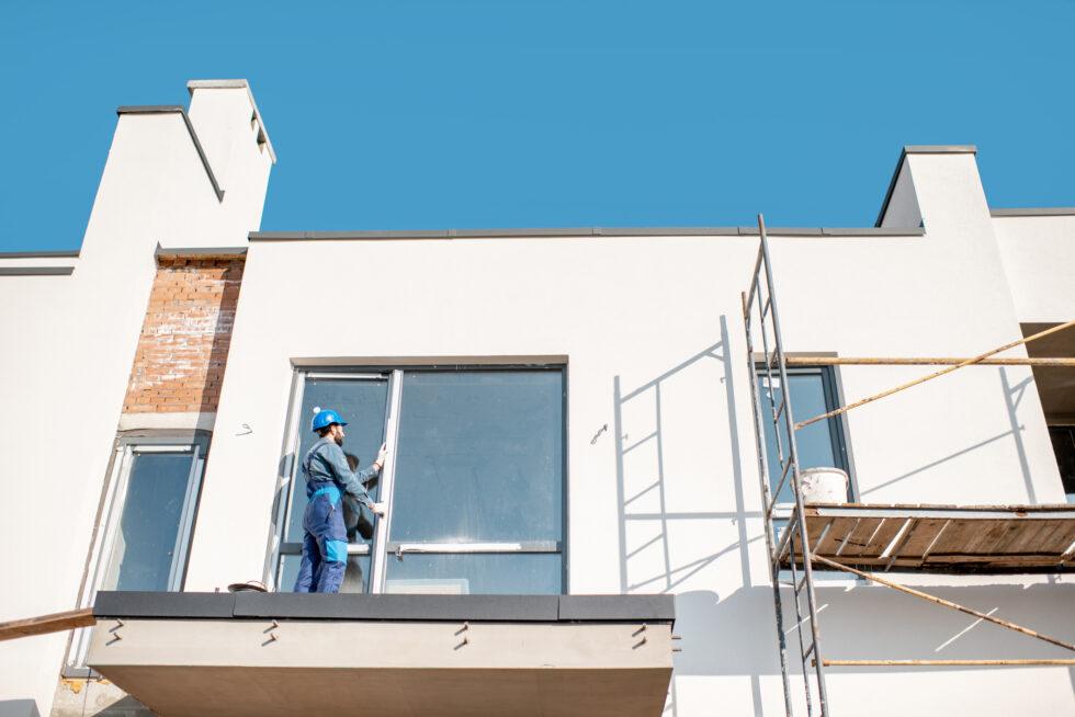 Workman mounting window