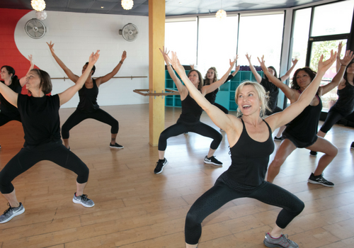 SWERVE Studio LA Personal Training and Group Fitness_home of yoga booty ballet