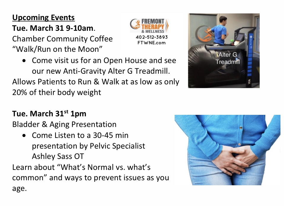 Fremont Therapy & Wellness Chamber Coffee