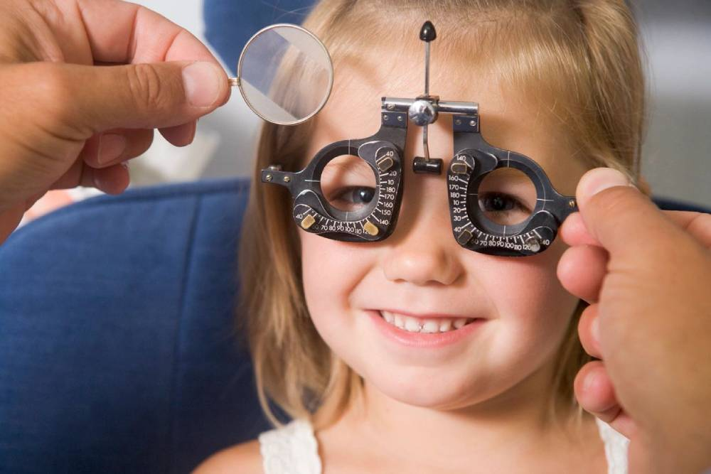 Kid Eye Exam Collinsville
