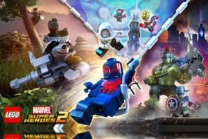 Llega el trailer de LEGO Marvel Super Heroes 2