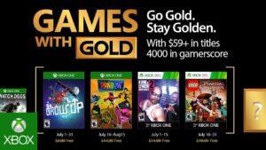 Revelan los juegos de Games with Gold Julio 2017