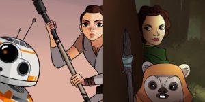 Llegan dos nuevos episodios de Star Wars Forces of Destiny