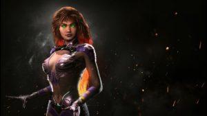Starfire Llega a Injustice 2