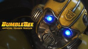 Llega el primer trailer oficial del filme Bumblebee de Transformers