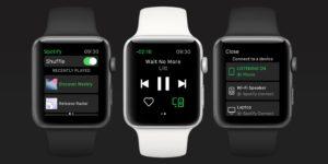 Spotify llega al Apple Watch